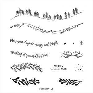Curvy Christmas Stamp Set
